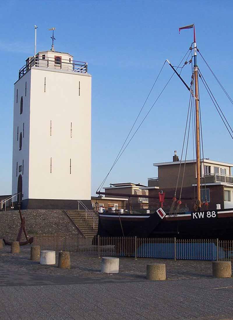 Leuchtturm katwijk aan zee